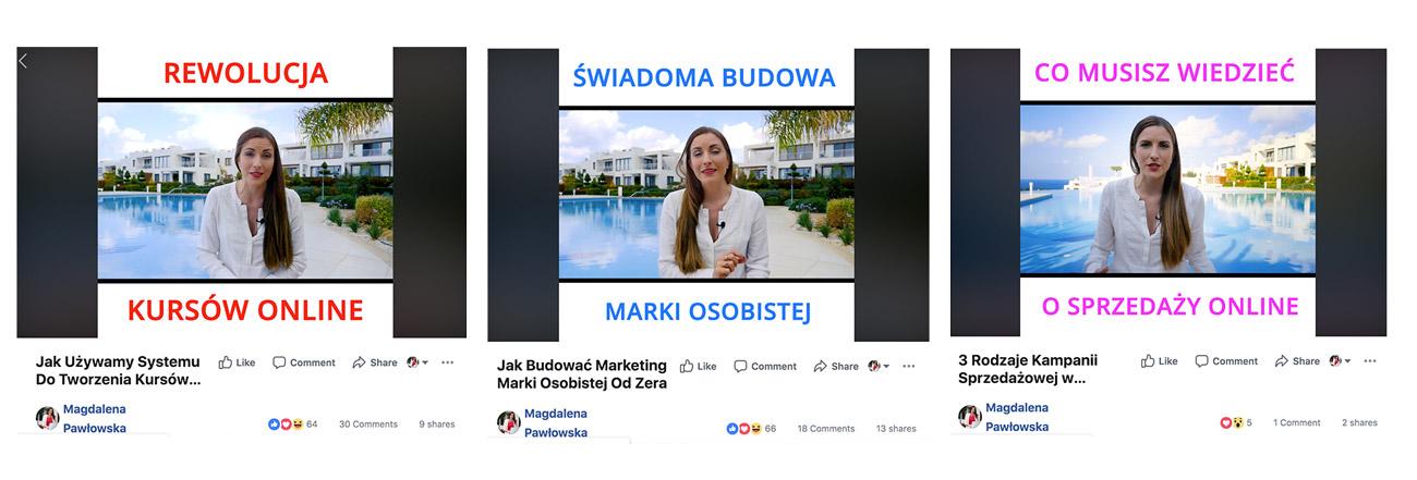 kampania sprzedażowa kursów online wideo