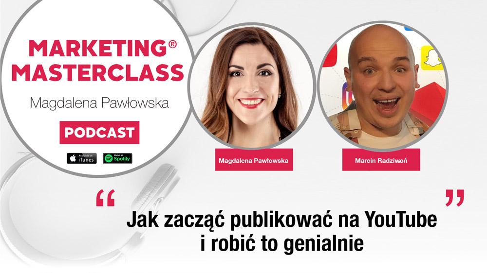 Jak zacząć publikować na YouTube i robić to genialnie – gość Marcin Radziwoń Spryciarze.pl