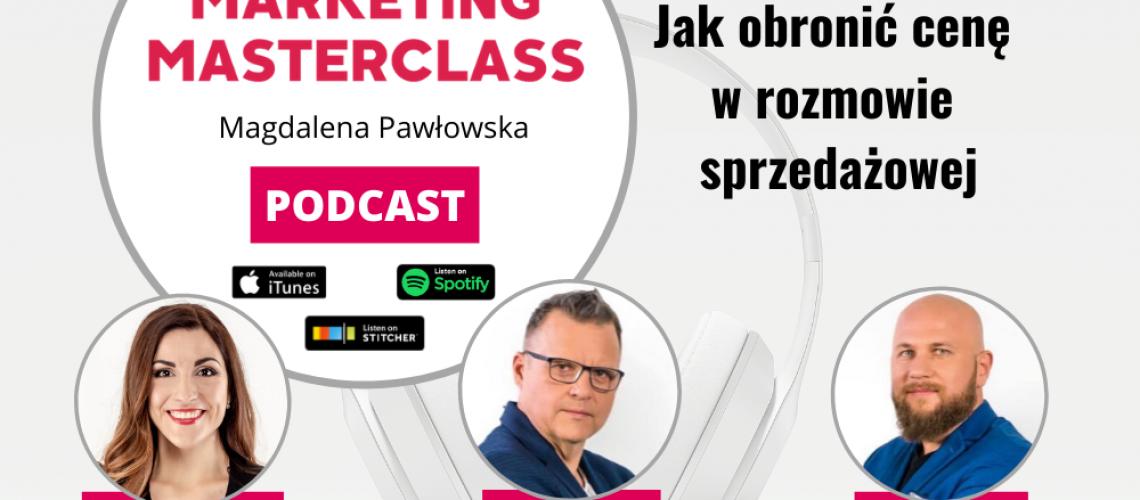 Jak obronić cenę w rozmowie sprzedażowej - goście Roman Kawszyn i Adam Szaran