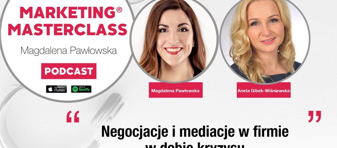Negocjacje i mediacje w firmie w dobie kryzysu – gość Aneta Gibek-Wiśniewska